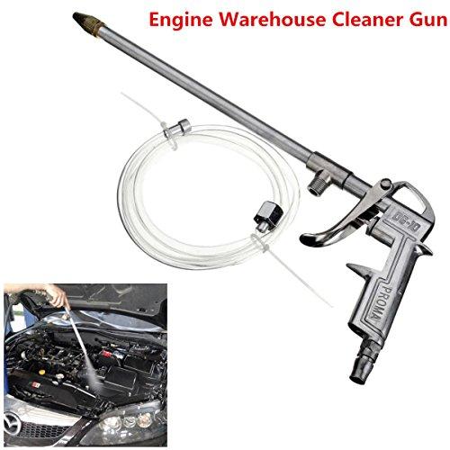 ressure Engine Warehouse Cleaner Gun Sprayer Dust Oil Washer Tool &Hose ()