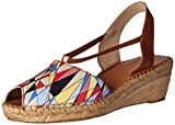 Shoes Best Deals - Andre Assous Women's Dainty-AA Espadrille Wedge Sandal, Art, 38 EU/8 M US