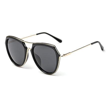 ZX Moda Retro Luz Polarizada Gafas De Sol Cara Redonda ...