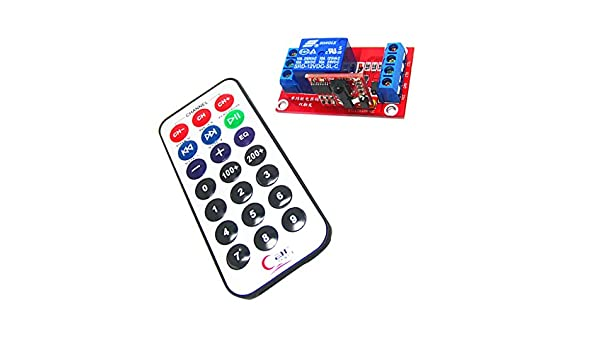 MagiDeal DC 3v 1 Channel Remote Control Switch Self-lock Transmitter