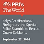 Italy's Art Historians, Firefighters and Special Police Scramble to Rescue Quake-Stricken Amatrice's Heritage | David Leveille