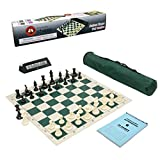 Wholesale Chess Club Starter Combo with Clock & Scorebook - Green