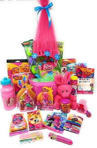 Harper Bucket - Trolls Themed Activity Gift Bucket Basket Bundle