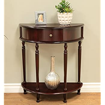 Frenchi Home Furnishing Espresso Finish End/Side Table