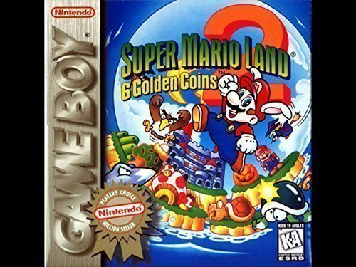 Super Mario Land 2: 6 Golden Coins [Player's Choice] Game Boy (Super Mario Land 2 6 Golden Coins)