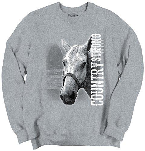 Country Strong Brand Crewneck Sweatshirt product image