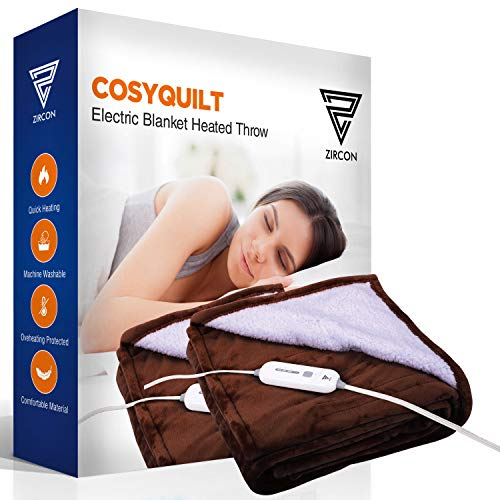 Electric Blanket Heated Throw
