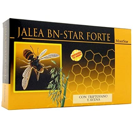 JALEA REAL BN-STAR FORTE FRUCT 20 AMPOLLAS