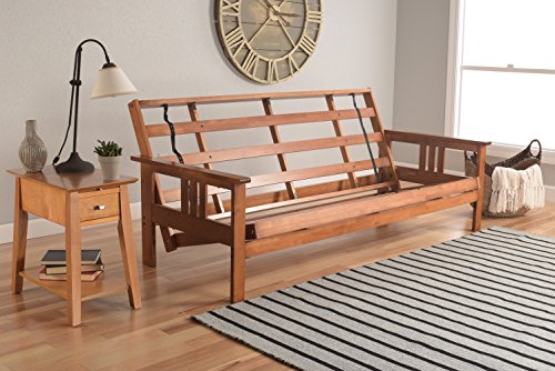 Kodiak Furniture Monterey Futon Frame, No Drawers, Barbados