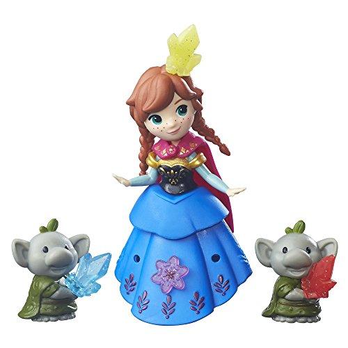 Disney Frozen Little Kingdom Anna and Rock Trolls]()