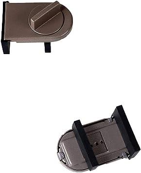 Myhonour - Tope para puerta corredera de armario, cierre de seguridad antirrobo para ventana, puerta corredera para bebés y niños, cerradura de puerta, 1 unidad: Amazon.es: Bricolaje y herramientas