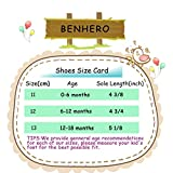 BENHERO Baby Boys Girls Canvas Toddler Sneaker