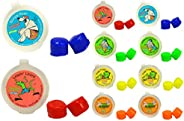 Putty Buddies Floating Earplugs 10-Pair Pack - Soft Silicone Ear Plugs for Swimming & Bathing - Invented b