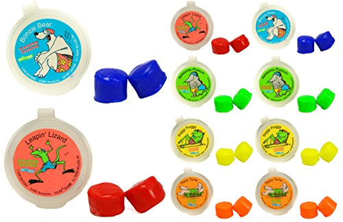 Putty Buddies Floating Earplugs 10-Pair Pack - Soft Silicone Ear Plugs for Swimming & Bathing - Invented by Physician - Keep Water Out - Premium Swimming Earplugs - Doctor Recommended ()