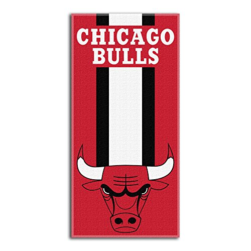 Northwest NBA Chicago Bulls Beach Towel, 30 X 60 Inches