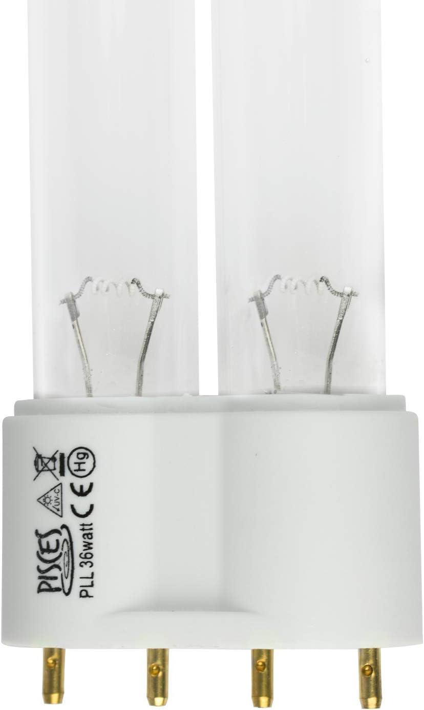 UVC Leuchtmittel 36 Watt PLL Lichtfilter Lampe Ersatzlampe UV-C Wasserklärer