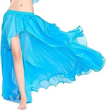 ROYAL SMEELA Falda Danza del Vientre Sexy Faldas largas de ...
