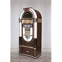 Crosley Full Size Bluetooth CR1206A-ST CD Jukebox w/ Storage Base Stand 58 High