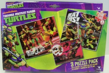 Amazon.com: Teenage Mutant Ninja Turtles 3 Puzzle Pack: Toys ...