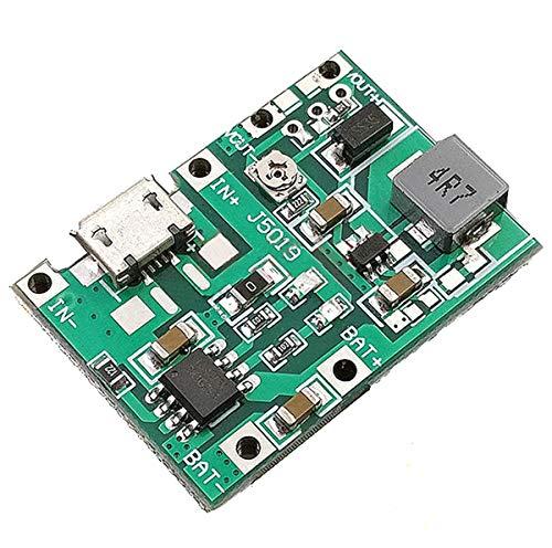 daier 5Pcs 2A USB 18650 Lithium Li-ion Battery Charger Module Boost 3.7V to 5V 9V 12V