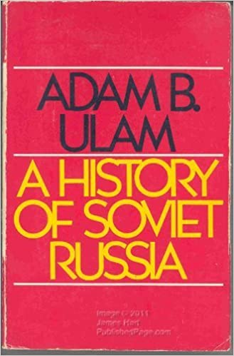 Book A History of Soviet Russia by Adam Bruno Ulam (1976-04-03)