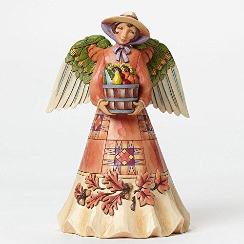 Enesco Jim Shore Harvest Angel with Bounty