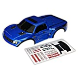 Traxxas 1 10 2WD Ford Raptor Body - Blue with Decals
