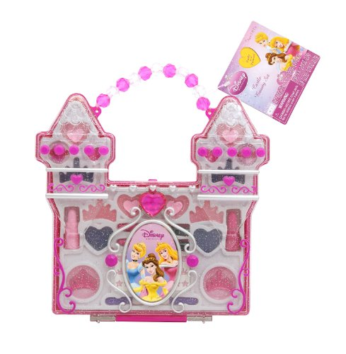 Princess Makeup Disney (Disney Princess Castle Play Make Up Set (Hang Tag))