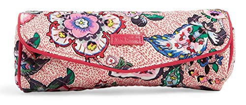 Vera Bradley Iconic On a Roll Case, Signature Cotton, Stitched Flower