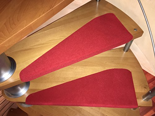 Coprigradino per scala a chiocciola negozio online for Tappeti per scale