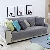 Lovehouse Waterproof Sofa Cover Pets Dog Sectional Couch Anti-Slip Water-Resistant Stain-Resistant Couch Cover