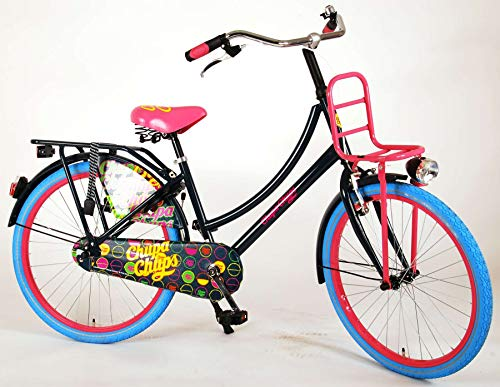 Chupa Chups Girl Bike 24 Inch Black 95% Assembled
