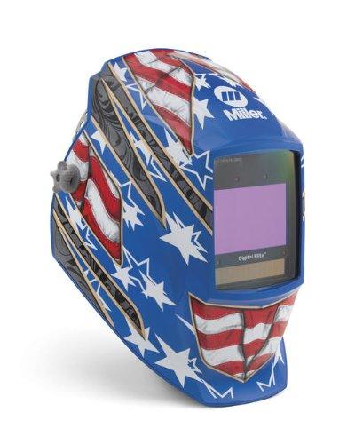 Auto Darkening Welding Helmet, Blue, Digital Elite, 3, 5 to 8/8 to 13 Lens Shade