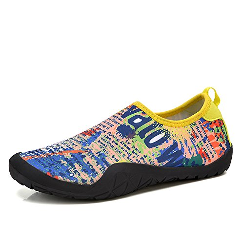 a85170972d131f durable modeling Barefoot Shoes Men Flexible Quick-Dry Water Shoes  Lightweight Aqua Socks For Beach