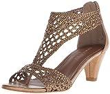 Donald J Pliner Women's Verona-25 Dress Sandal, Light Bronze, 7 M US