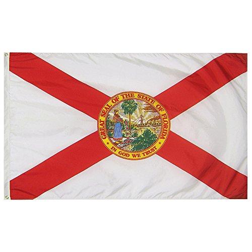 4 x 6 Florida State Flag - Nylon - 100% American Made