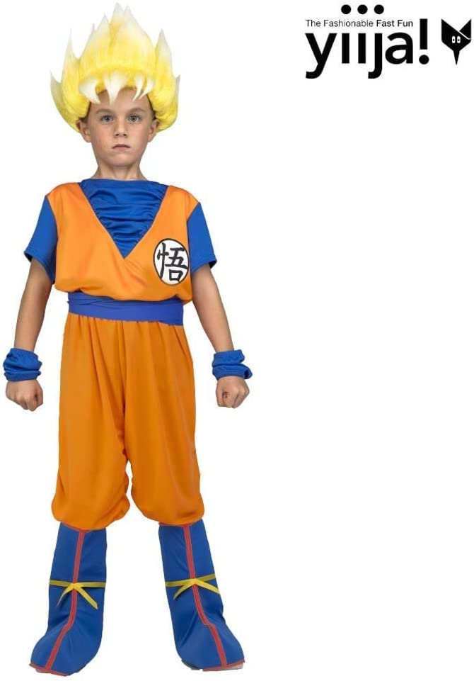 Multicolore 231318 My Other Me Me saiyan Goku Dragon Ball costume