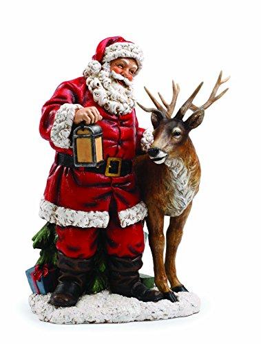 Santa with Reindeer by Napco