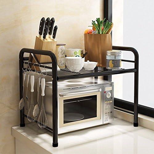 lzzfw Soportes para horno de microondas Estante para ...
