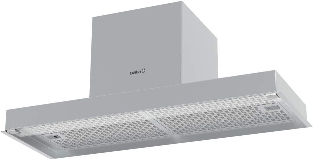 CATA CORONA X 60 850 m³/h Encastrada Acero inoxidable A - Campana (850 m³/h, Canalizado/Recirculación, A, A, B, 65 dB): Amazon.es: Grandes electrodomésticos