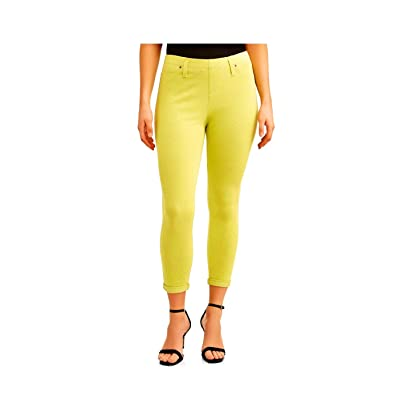 Time and True Lime Heather Capri Jegging at Women's Clothing store