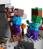 LEGO Minecraft In The Cave-Educational Toys-249 Pieces-3D version of the popular video game, Minecraft, gets them thinking outside the box and creating their own creations-Guaranteed! Superb