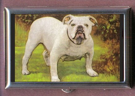 AMERICAN BULLDOG ANTIQUE IMAGE Coin, Mint or Pill Box: Made in USA!