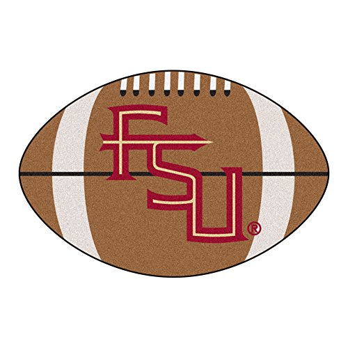 Florida State Tufted Rug (FANMATS NCAA Florida State University Seminoles Nylon Face Football Rug)