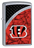Zippo NFL Cincinnati Bengals Street Chrome Pocket Lighter