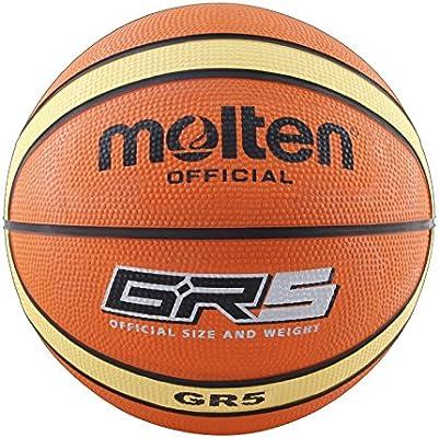 MOLTEN Balón Baloncesto BGR Talla 5: Amazon.es: Deportes y aire libre