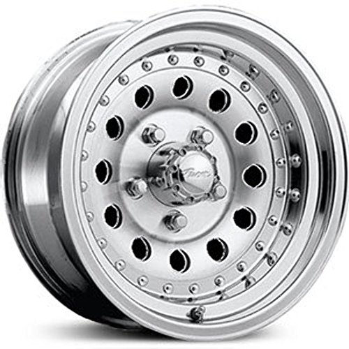 Pacer Aluminum 16x8 Machined Wheel / Rim 8x6.5 with a -6mm Offset and a 130.00 Hub Bore. Partnumber - Machined Aluminum Wheel