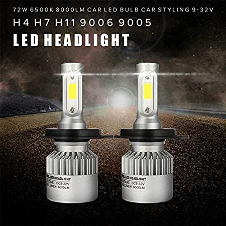 Dot Approved 4x6 Inch LED Headlights Hi//Lo Sealed Beam Replace Projector Rectangular H4651 H4652 H4656 H6545 Headlamp Peterbil KW Kenworth Freightinger Ford Probe Chevy Oldsmobile Cutlass 4PCS