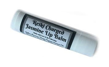 Amazon com: Reiki Charged JASMINE LIP BALM Beeswax All Natural