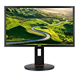 Acer XF240H bmjdpr 24-inch Full HD (1920 x 1080) G-SYNC Compatible Monitor (Display Port, DVI & HDMI Port, 144Hz Refresh Rate)
